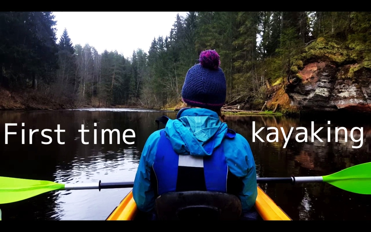 First time kayaking